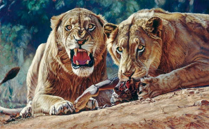 John Banovich Maneaters of Tsavo