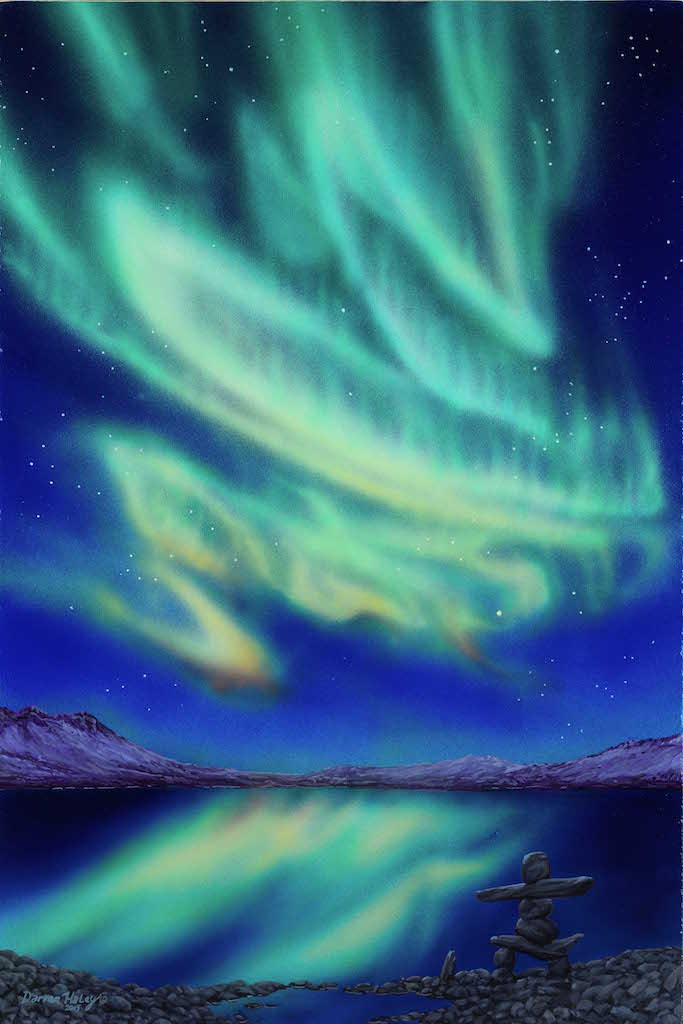 Darren Haley Northern Lights