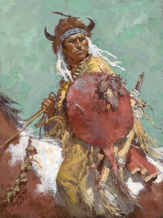 Howard Terpning Cheyenne Red Shield