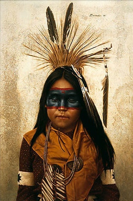 Crow Indian War Paint Patterns