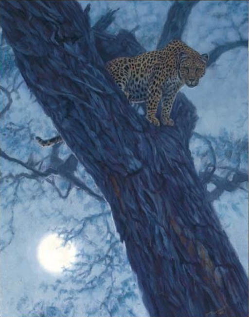 John Banovich Hunter By The Moon