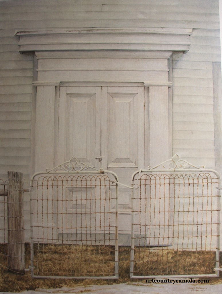 Robert bateman Chapel Doors