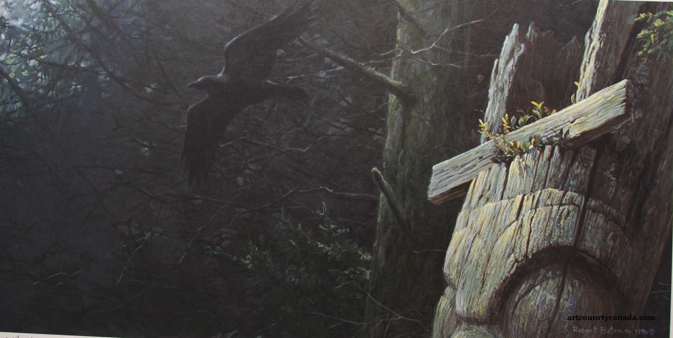 Robert Bateman Clan Of The Raven