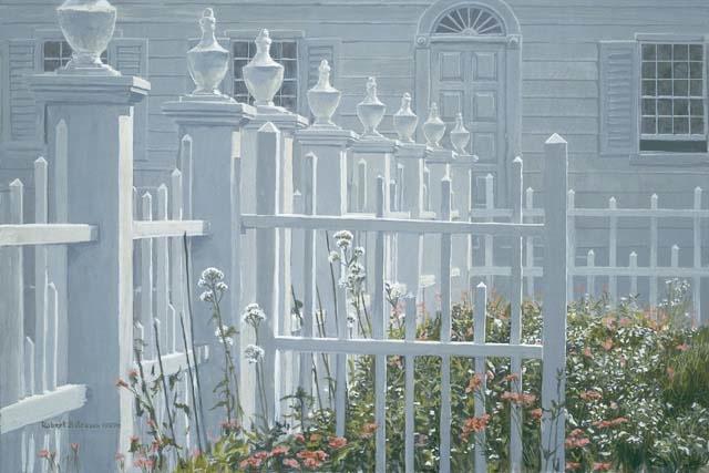 Robert Bateman Colonial Garden