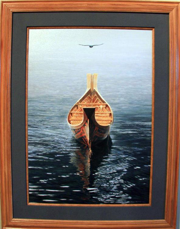 Art Country Canada - CUSTOM FRAMING Giclee on Canvas Wood Framed ...