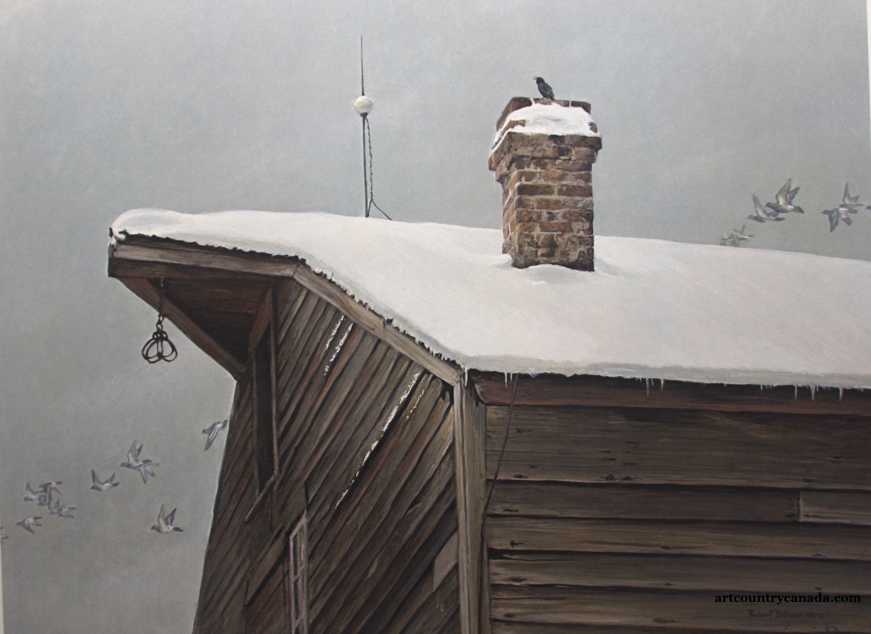 Robert Bateman The Immigrants