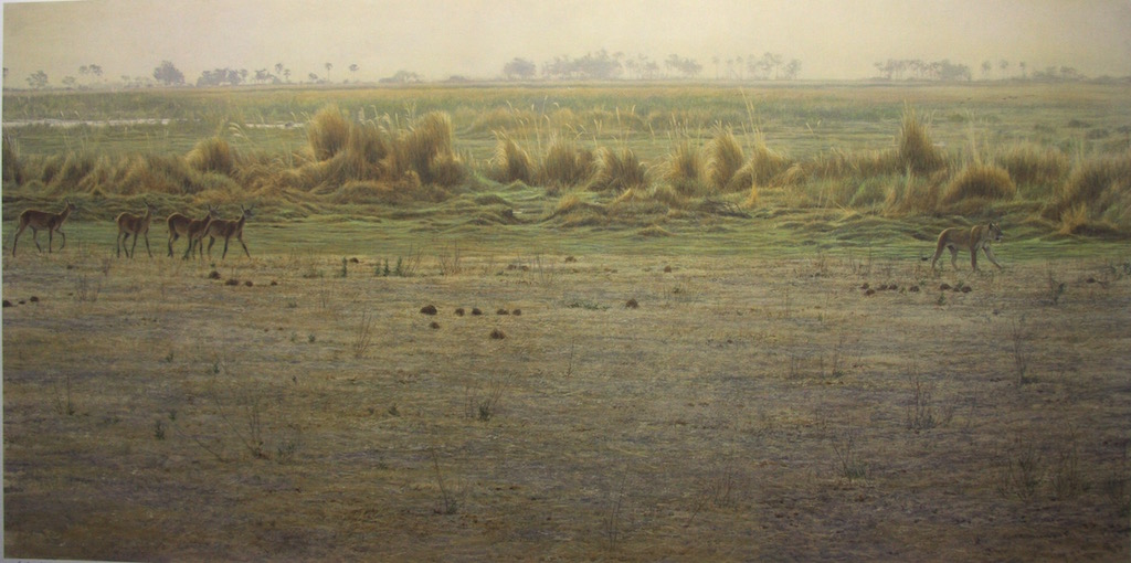 Robert bateman Peaceable Kingdom