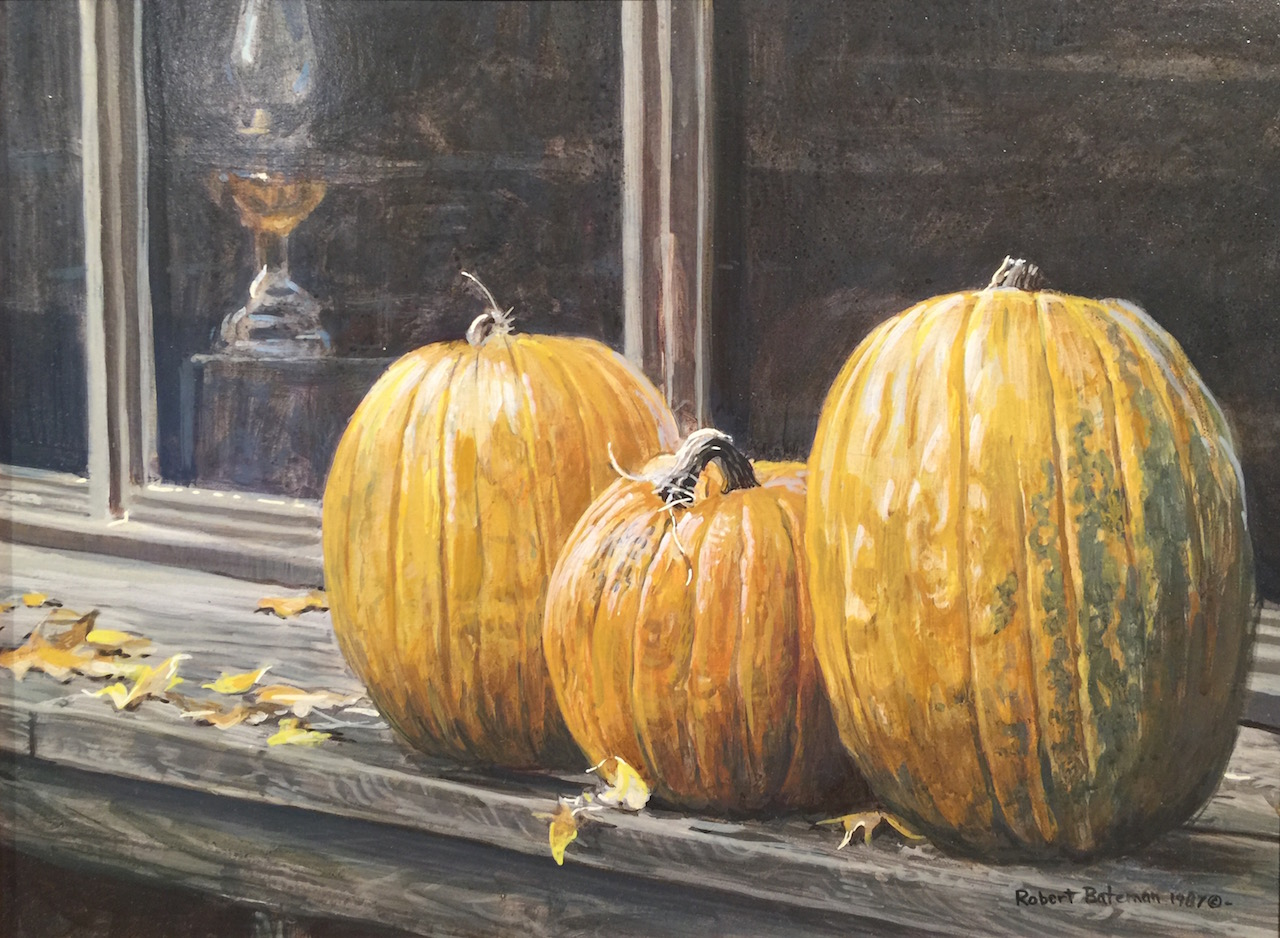 Robert Bateman Pumpkin Time