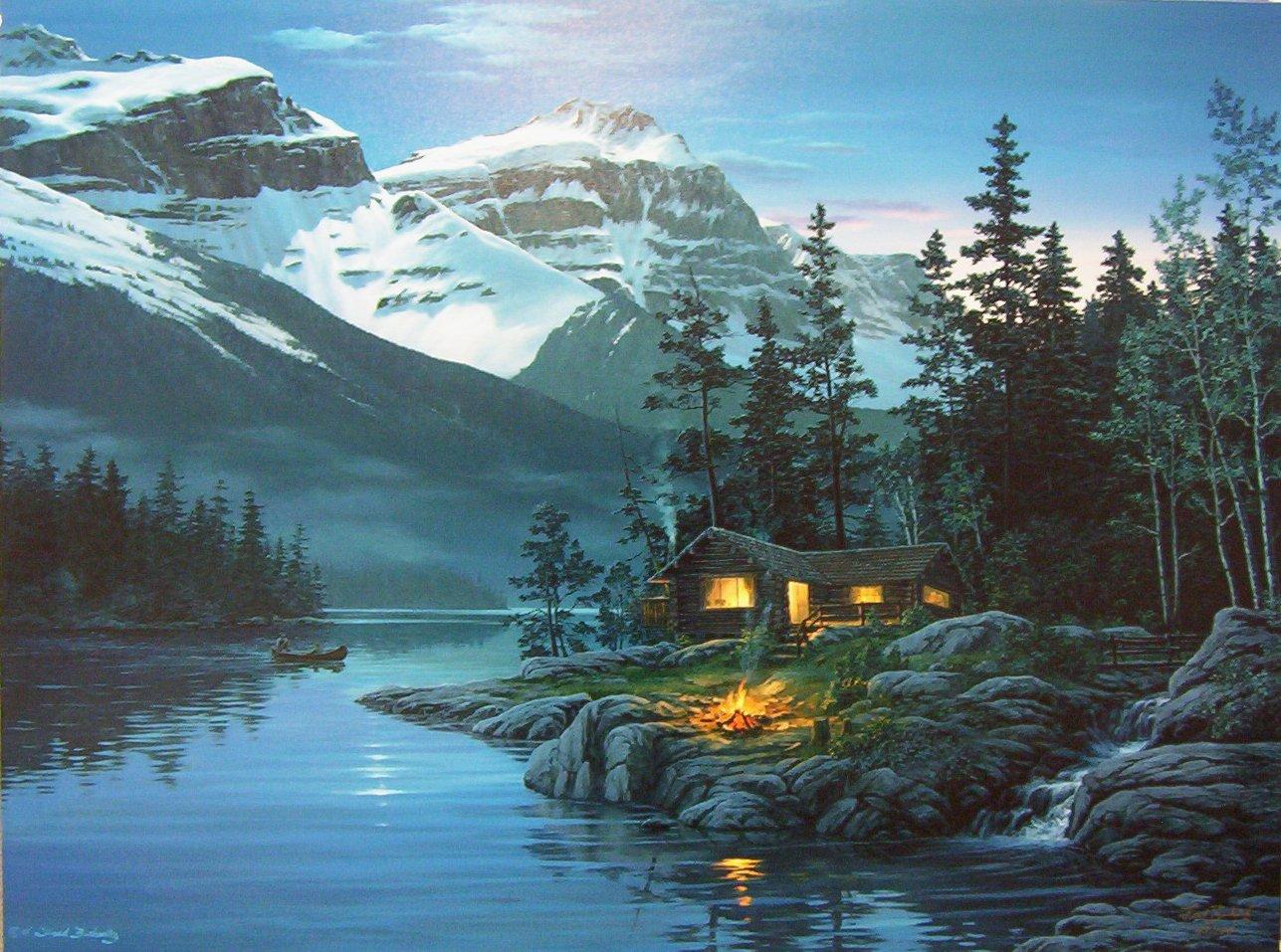 rocky mountain creek wallpaper - photo #37
