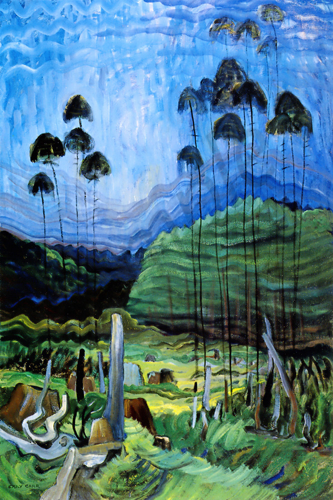 Art Country Canada Group Of Seven EMILY CARRFamous Forest Paintings