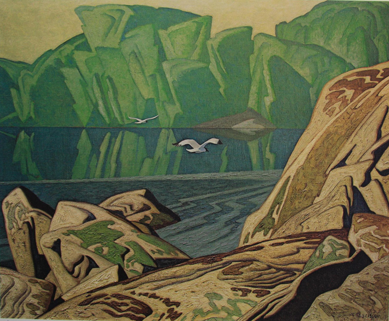 A. J. Casson Summer Morning