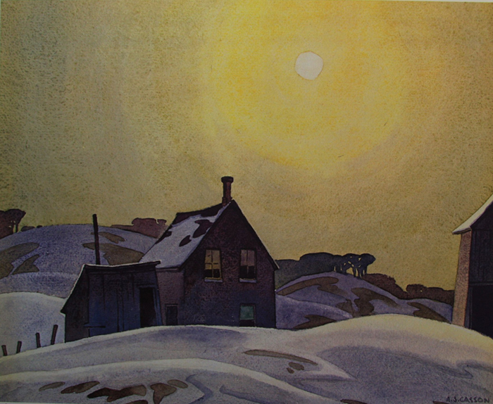 A. J. Casson Winter Sun 1930