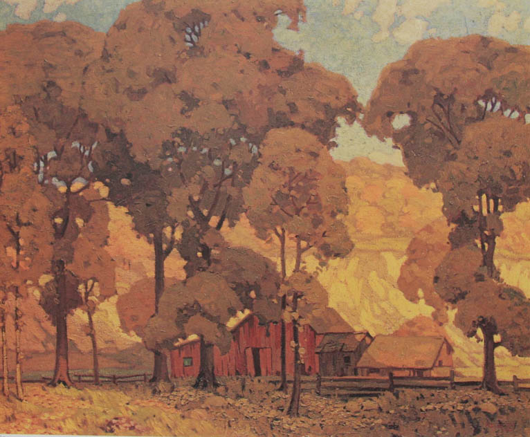 A. J. Casson Autumn Afternoon