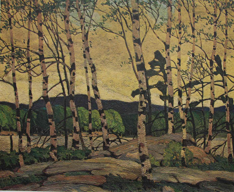 A. J. Casson Coole Weather