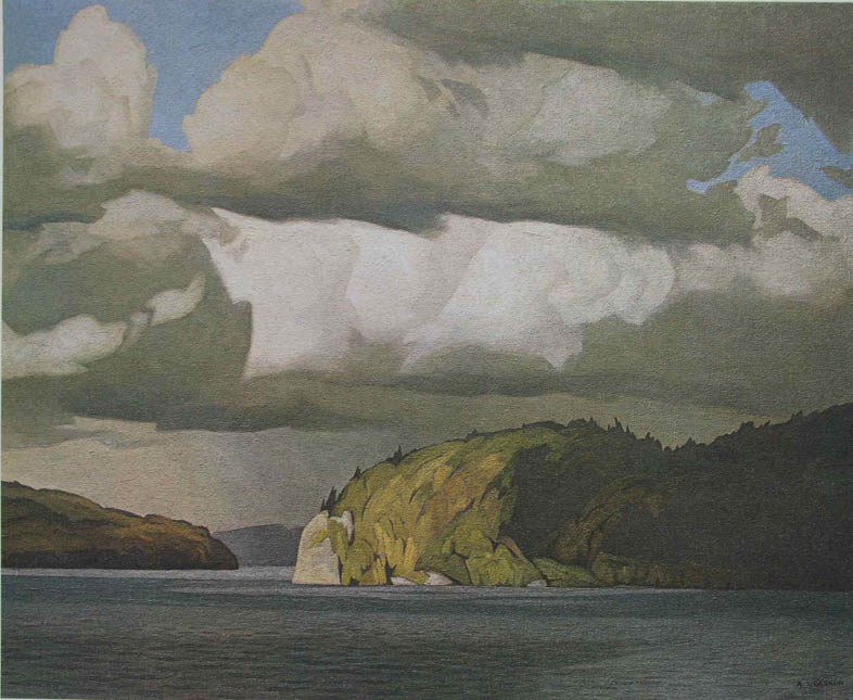 A.J. Casson October Storm Clouds