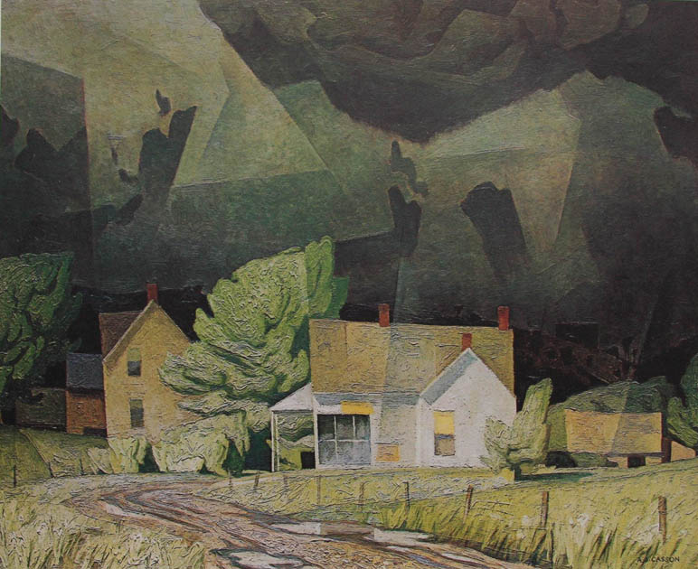 A. J. Casson Sun After Thunder