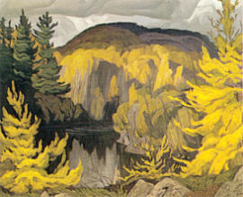A.J. Casson Autumn On The York