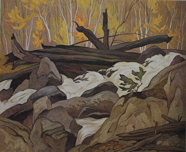A. J. Casson Below Ragged Falls