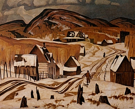 A.J. Casson Early Snow