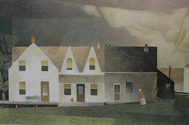 A. J. Casson Farmhouse Near Wingle