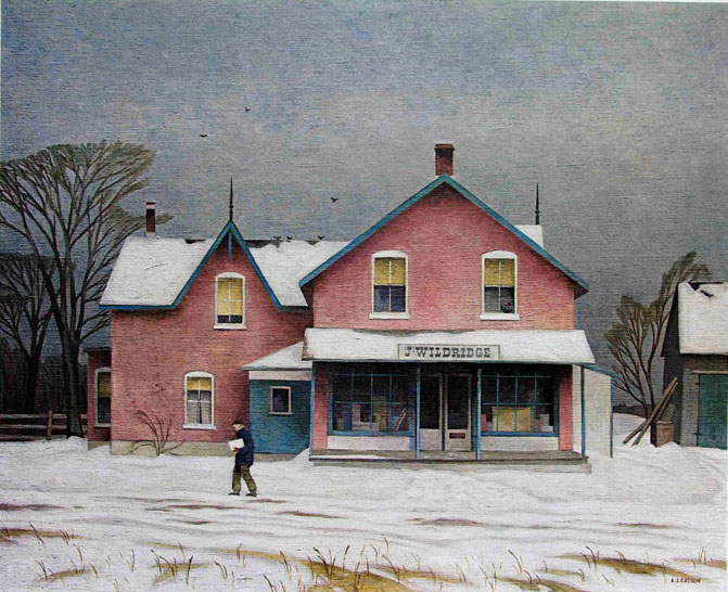 A. J. Casson Grey Day