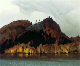 A.J. Casson Hills In Autumn