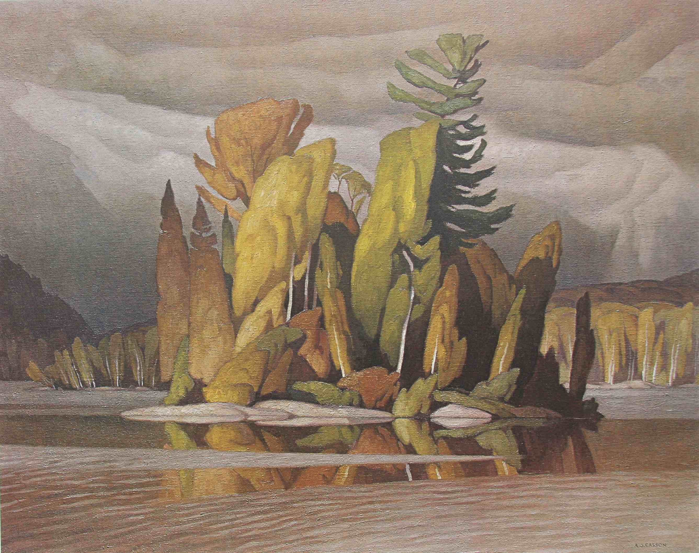 A.J. Casson Little Island