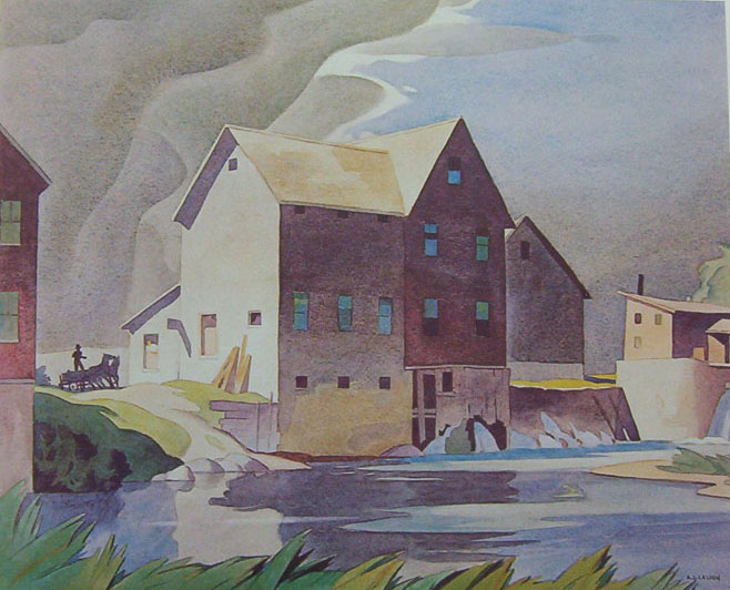 A.J. Casson Mill At Washago