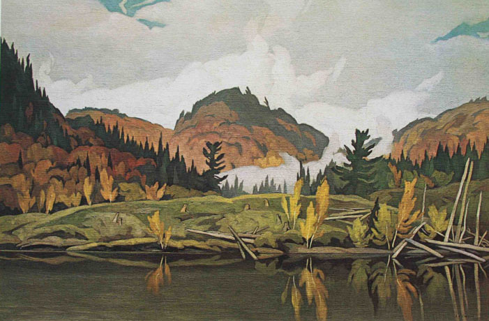 A. J. Casson Morning Mist Rouge River