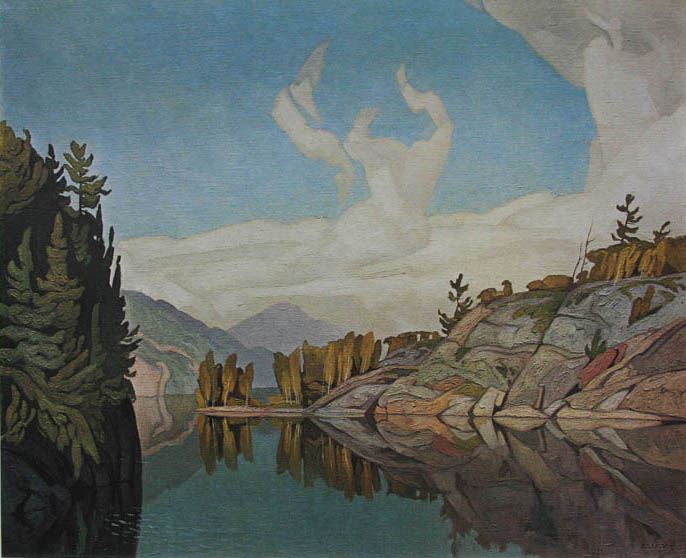 A. J. Casson Morning On The Key River