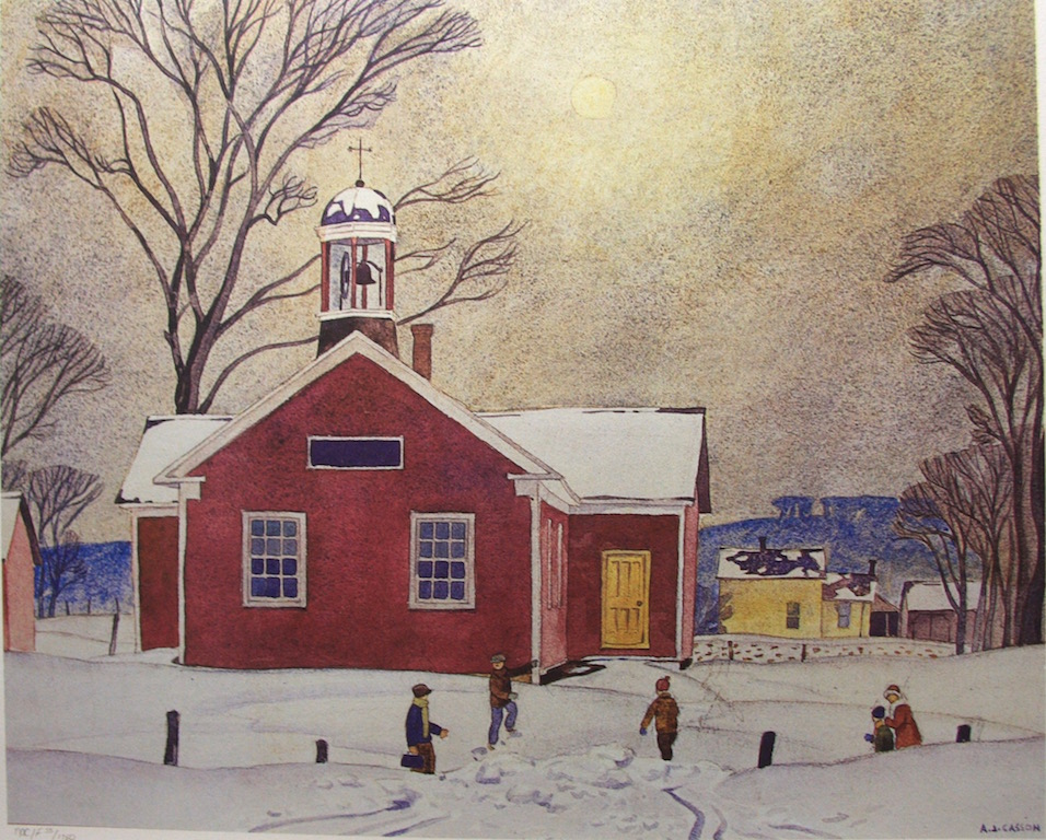 A,J, Casson North York School House