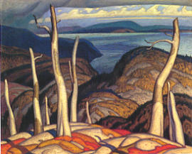A.J. Casson October Lake Superior
