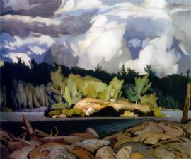 A.J. Casson Ragged Sky Moose Lake
