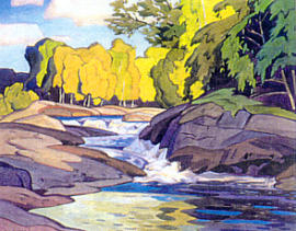 A.J. Casson Rapids On The Magnetawan