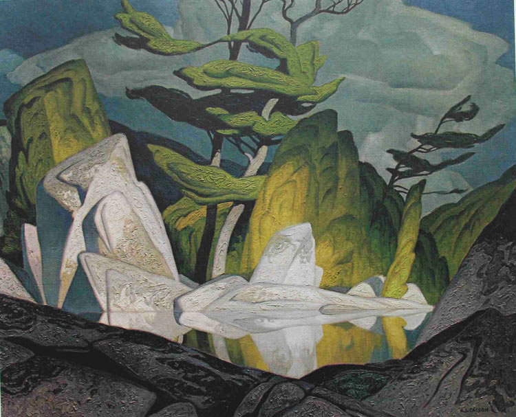 A. J. Casson Rock Pool