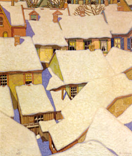 A.J. Casson Rooftops