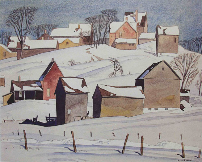 A. J. Casson Village Of Mount Albert