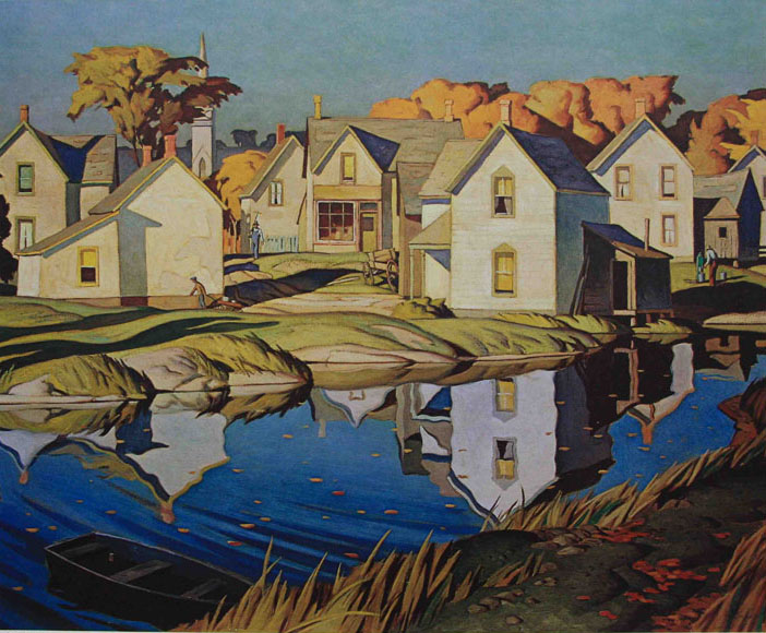 A. J. Casson White Village