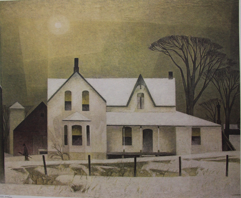 A. J. Casson Winter Sun