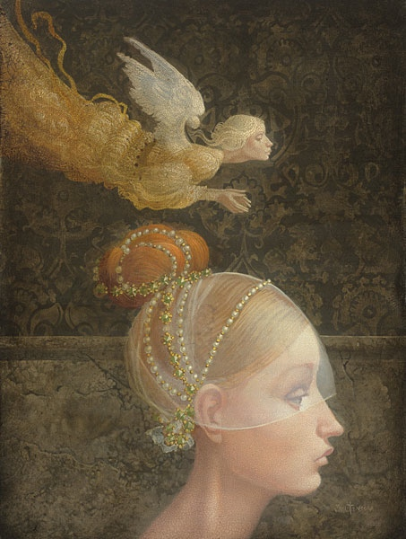 James Christensen Angel Unobserved