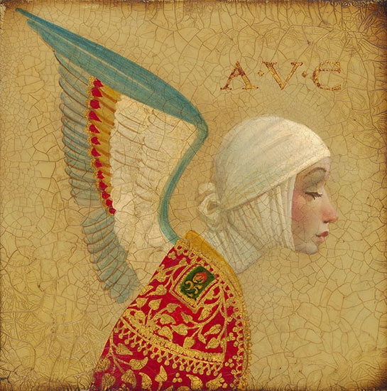 James Christensen Angel With Epaulat