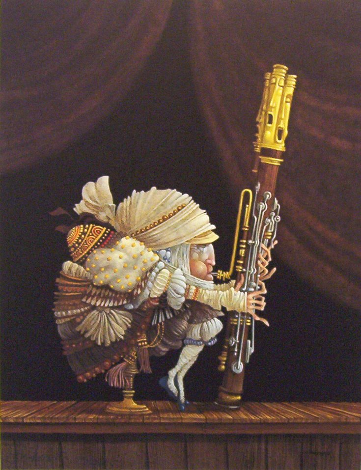 James Christensen The Bassoonist