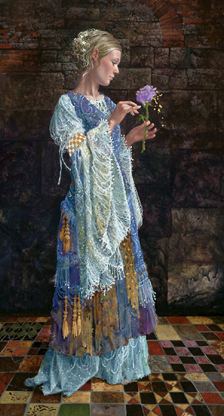 James Christensen The beggar Princess and the Magic Rose