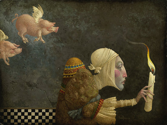 James Christensen If Pigs Could Fly