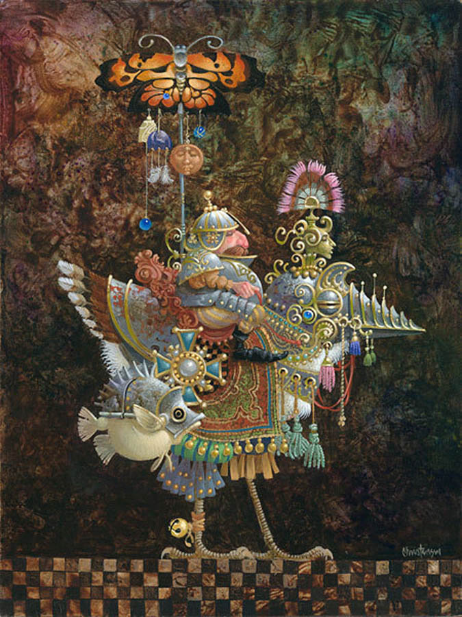 James Christensen Butterfly Knight