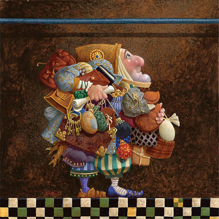 James Christensen Hold To The Rod the Iron Rod Limited Edition Print