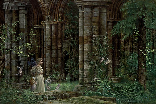 James Christensen Queen Mab In The Ruins