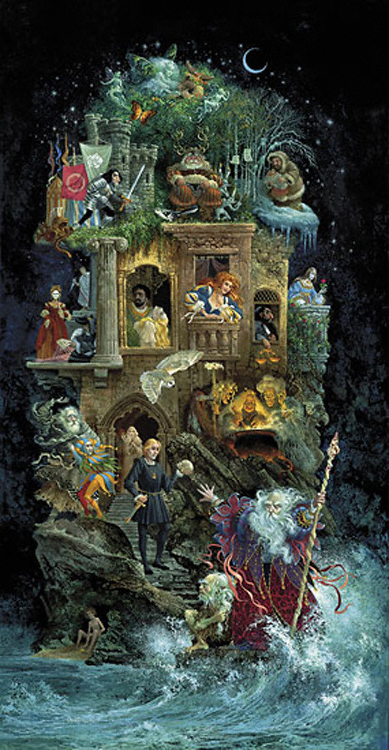 James Christensen A Shakespearean Fantasy