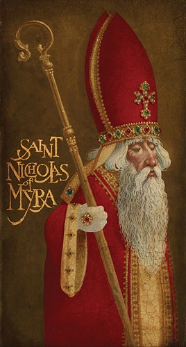 James Christensen St. Nicholas Of Myra