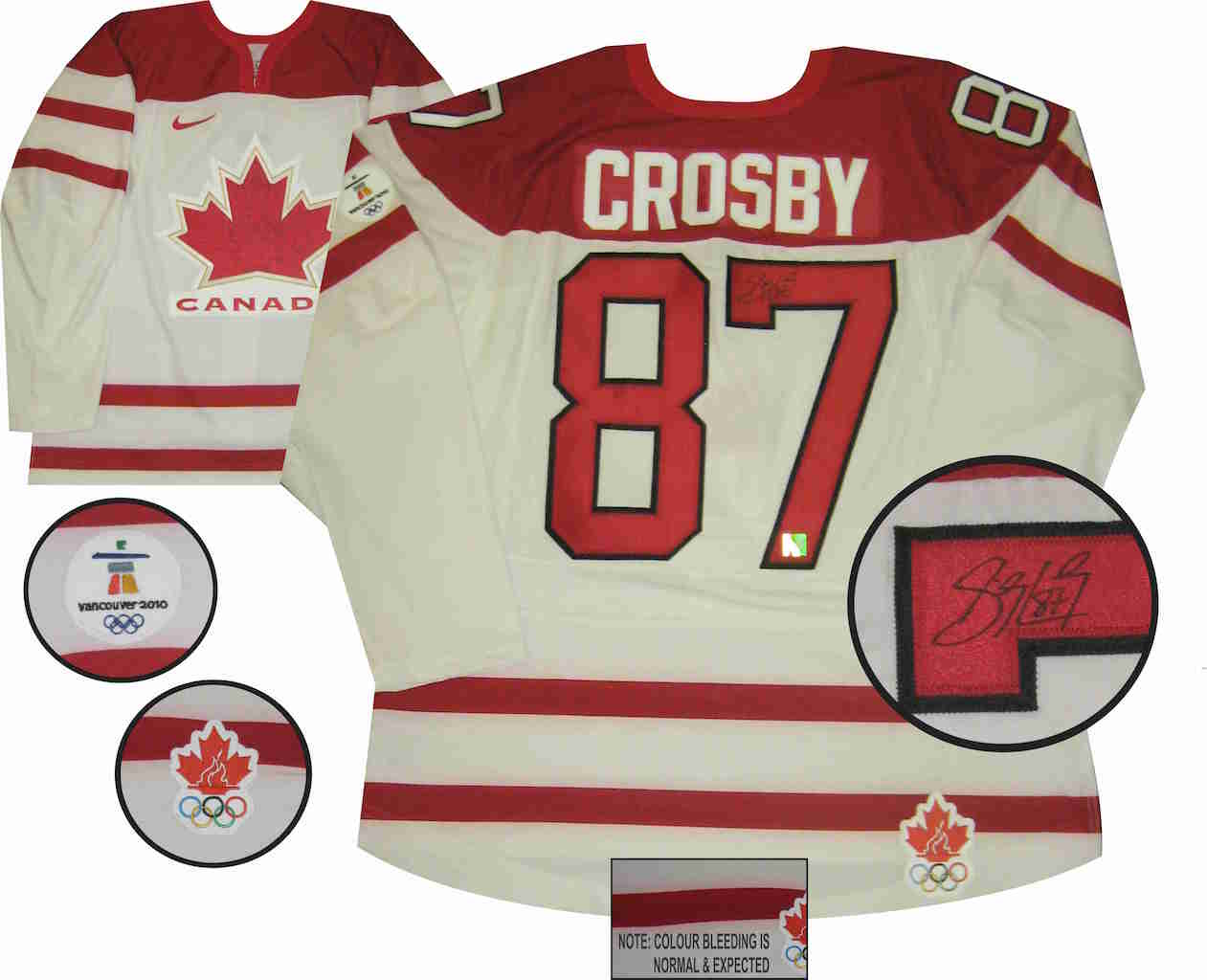 official photos dafef ea26d Crosby Sidney 2014 Canada Team Jersey takeout.kitapulsa.com